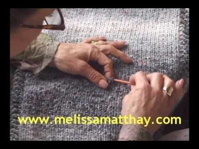 Knitting Lesson: Adding a Pocket