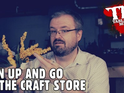 Man Up and Go to the Craft Store