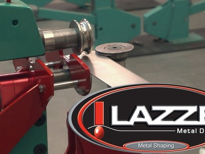 Metal Shaping with Lazze: 3rd Axis Guide on the Lazze 2nd Generation Bead Roller