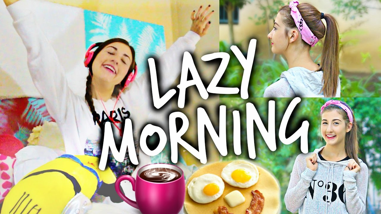 Morning Routine For Lazy People!