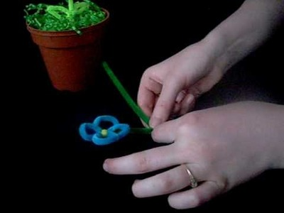 Point Park Pipe Cleaner Flowers Craft Project