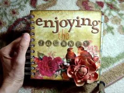 "Scrapbook: Urban Junque ""Enjoying the Journey"" Mini Album"