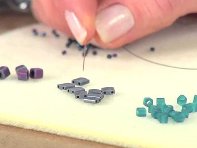 2004-3 Beads, Baubles & Jewels host Katie Hacker shows how to store & organize seed beads