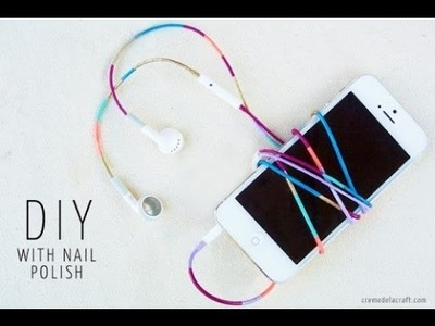 7 Colorful DIY Headphones Decor Ideas