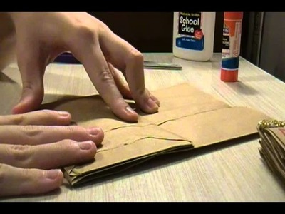 Brown Paper Bag Scrapbook Tutorial