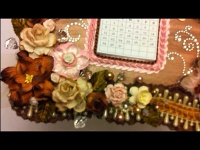 Calendar.Photo Frame Wall Hanger ~ Pro 31 Designs ~ DT Project Episode 1
