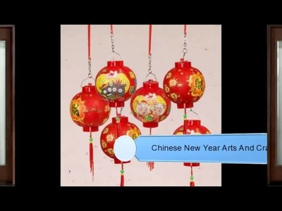 Chinese New Year Arts And Crafts