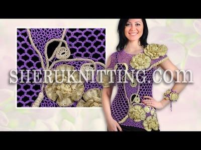 Crochet Blouse With Bracelet Model 23
