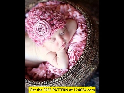 Crochet yoda hat baby shower