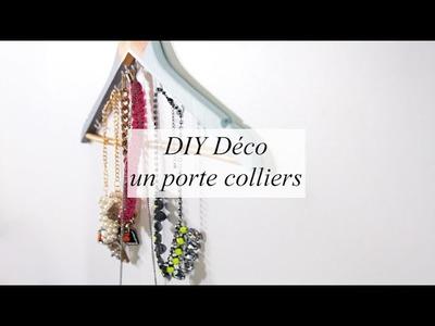 DIY DÉCO : un porte colliers