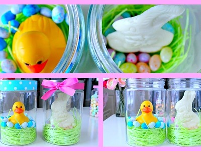 DIY Easter Gift Ideas ~ Easter jars