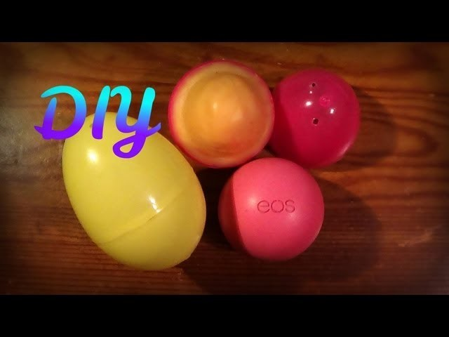 DIY EOS Lip Balm (Easter Themed) -HowToByJordan