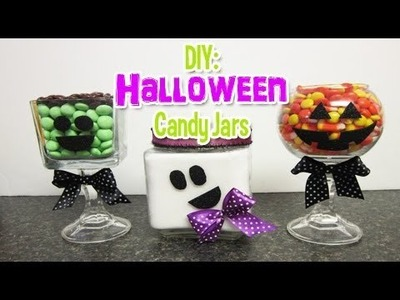 DIY: Halloween Candy Jars (Day 4: Halloween Week)