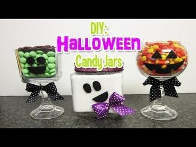 DIY: Halloween Candy Jars (Day 4: Halloween Week)