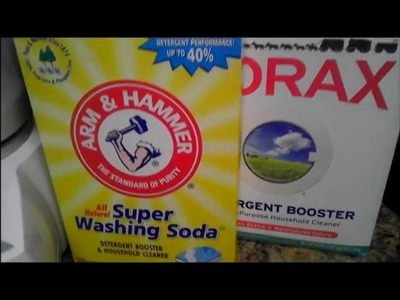 DIY: How to Make Powdered Laundry Detergent