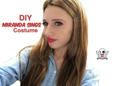 DIY Miranda Sings Halloween Costume 2014