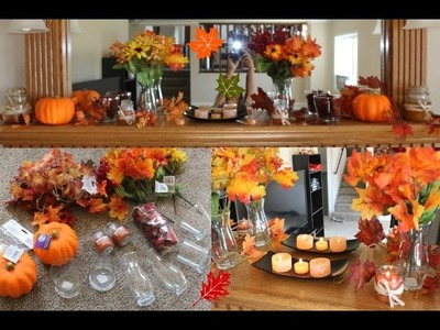 FALL SERIES: DIY FALL DECORATIONS & IDEAS Dollar Tree Haul