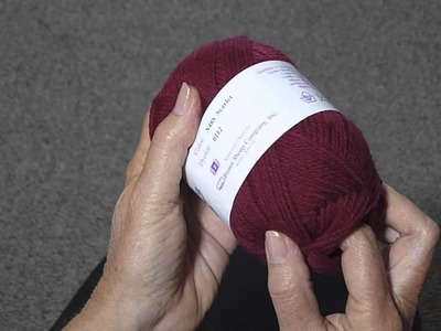 FIND THE BEGINNING OF A BALL OF YARN