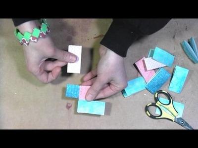 Gum wrapper bracelets kidscraft