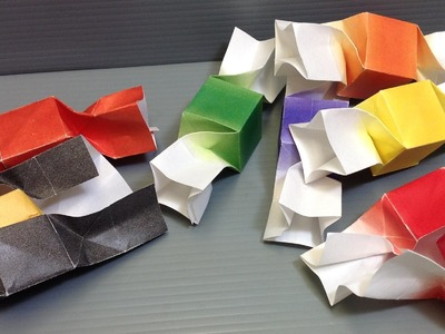 Halloween Origami Candy - Print Your Own