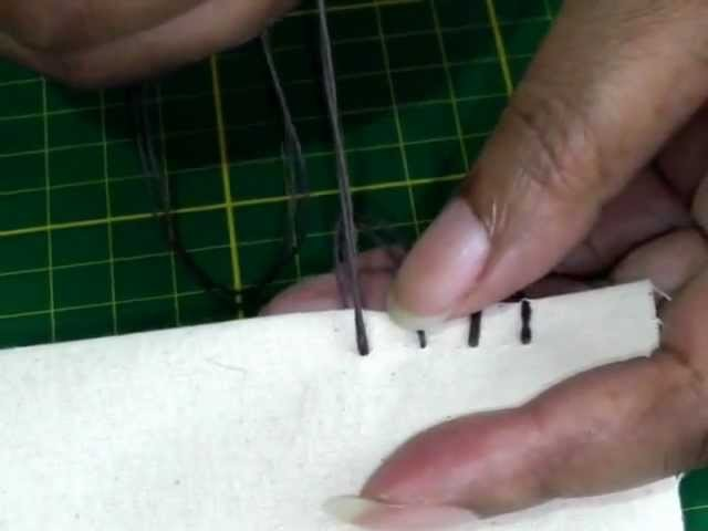 Hand Sewing - The Blanket Stitch