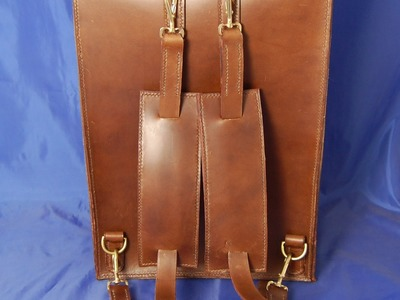 Hand Sewn Leather Backpack