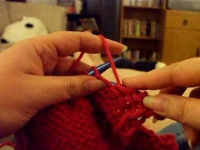 How I Purl Continental-Style