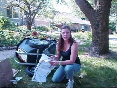 How to Assemble A Lifetime Wheelbarrow
