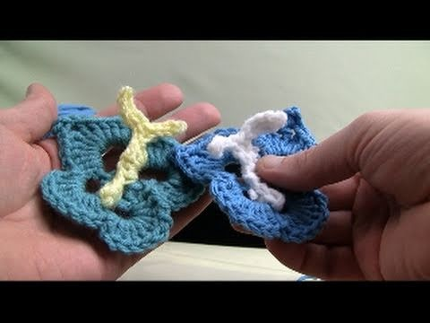 How To Crochet A Butterfly - Lily Sugar'N Cream Pattern
