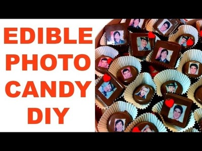 How To: Edible Photo Chocolates || DIY Chocolate