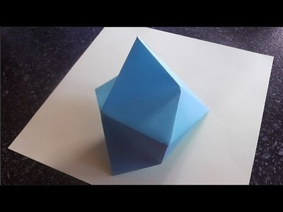 How to make an Origami Diamond | Easy