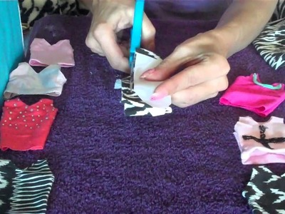 How to make Barbie Doll Clothes Singlet