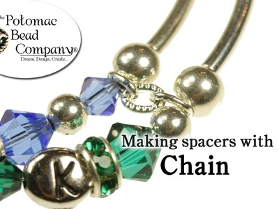 How to Make Spacer Beads with Chain