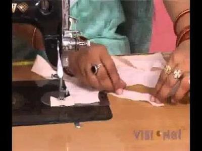 ITI Vocational Courses - Cutting & Tailoring -How to do Circular Binding.
