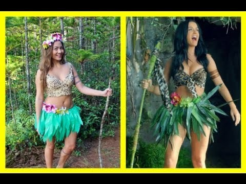 Katy Perry - Roar DIY Halloween costume 2013