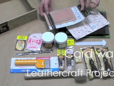 Leather Hand Sewing Set 18 Piece Kit for Leathercraft Wallets, Projects, etc