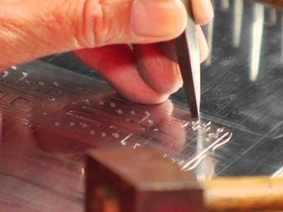 Music Engraving on Metal Plates