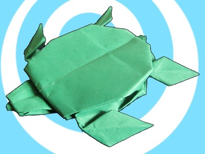 Paper Origami Turtle Instructions