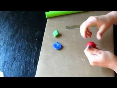 Polymer clay for beginners: Basic Beads