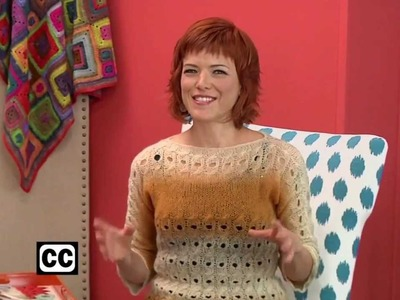 Preview Knitting Daily TV Episode 1201 with Vickie Howell - Cables