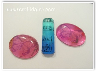 Resin Charms Color Blending DIY