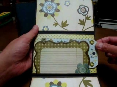 """Scrapbooking """"Flip Flap mini albums in Photo Stand"""""""