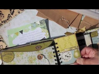 Scrapbooking *NEW* Super Cute Envelope Mini Album KIT *LIMITED*