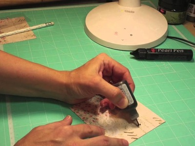 Swirlydoos kit club scrapbook tutorial - Liquid Pearls vs Viva Pearl Pen