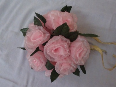 Tissue Rose Bouquet part 1
