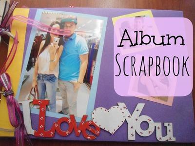 Album Scrapbook - regalo de aniversario