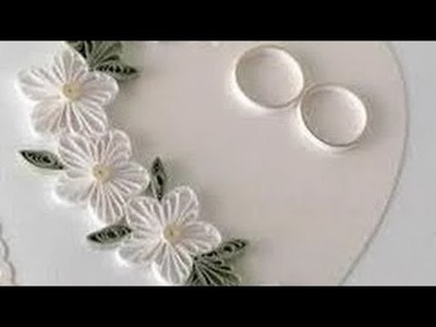 Art & Craft : How to make Beautiful flower using -Paper Art Quilling Art