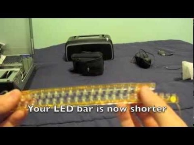 Canon G11 DIY LED ring light