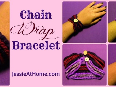 Chain Wrap Bracelet ~ Crochet Pattern