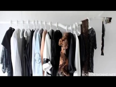 Chic DIY Clothes Rack Ideas
